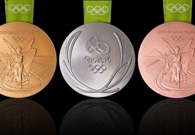 Descubra o material que são feias as medalhas olímpicas