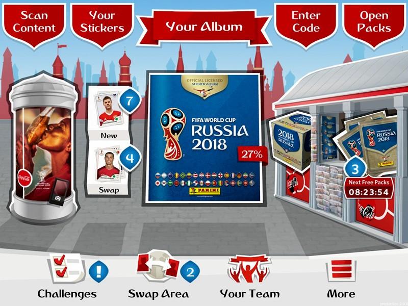 FIFA e Panini lançam álbum da Copa do Mundo 2018 em formato digital cce0071ed83